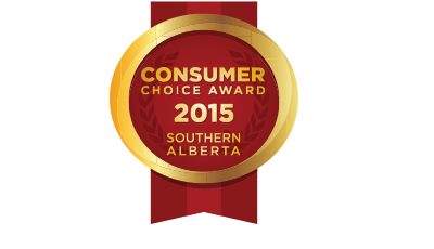Consumer Choice Award 2015 Medallion - Southern Alberta