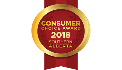 Consumer Choice Award 2018 Medallion - Southern Alberta